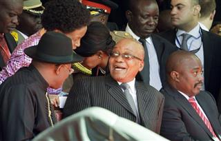 Jacob Zuma, Jonathan Goodluck, Joseph Kabila