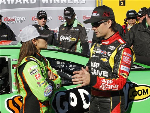 Danika Patrick, Jeff Gordon