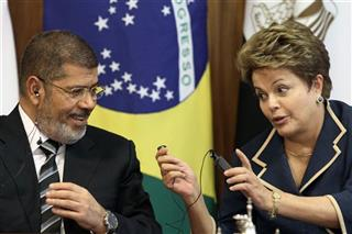 Dilma Rousseff, Mohammed Morsi