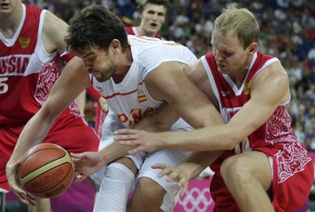 Marc Gasol, Anton Ponkrashov
