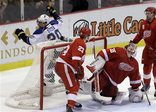 Alexander Steen, Jimmy Howard