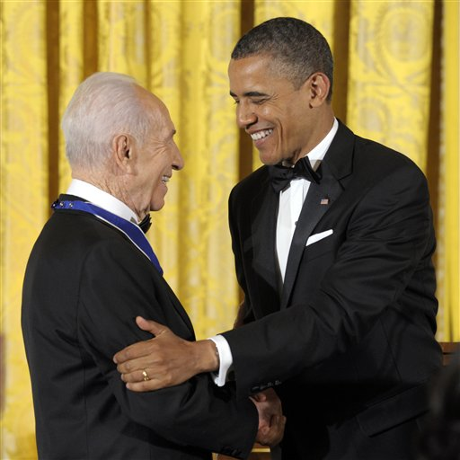 Barack Obama, Shimon Peres