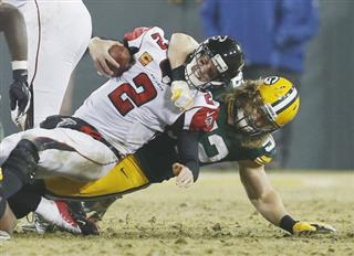 Clay Matthews, Matt Ryan