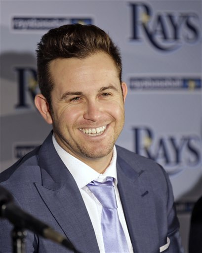 Rays Longoria Baseball