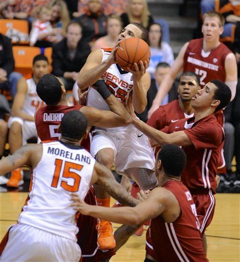 Washington St Oregon St Basketball