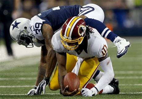 Robert Griffin III,  Brandon Carr