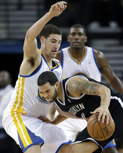 Klay Thompson, Deron Williams