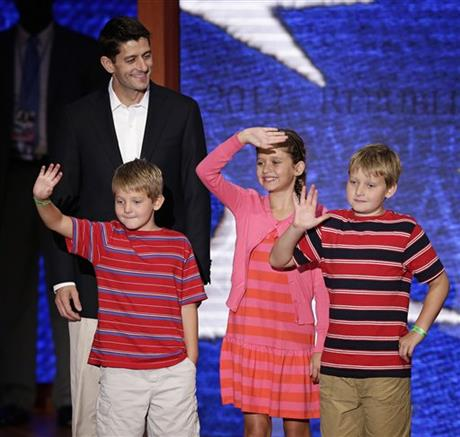Paul Ryan, Charlie Ryan, Liza Ryan, Sam Ryan