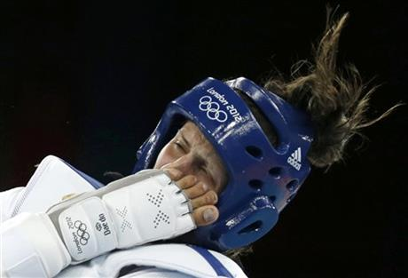 APTOPIX London Olympics Taekwondo Women