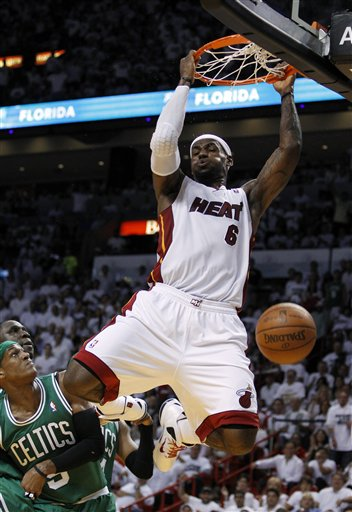 LeBron James, Rajon Rondo