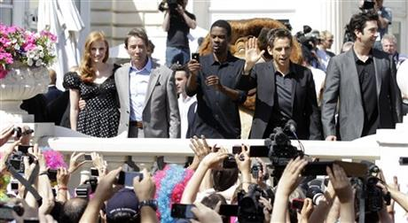 Jessica Chastain, Martin Short, Chris Rock, David Schwimmer