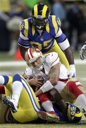 Colin Kaepernick, Jo-Lonn Dunbar, William Hayes