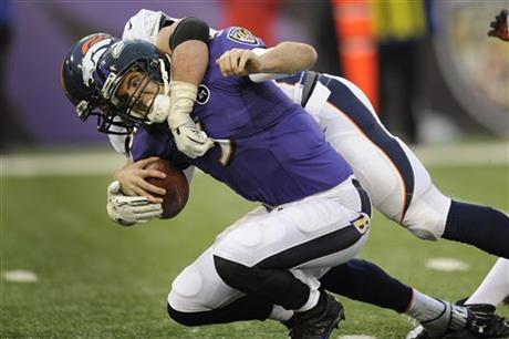 Joe Flacco, Derek Wolfe