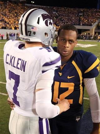 Collin Klein Geno Smith