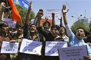 India China Protest