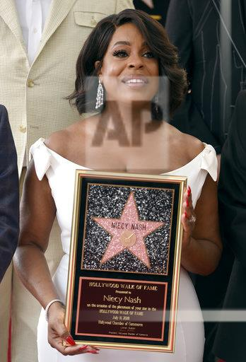 Niecy Nash Honored with a Star on the Hollywood Walk of Fame