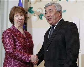 Yerlan Idrisov, Catherine Ashton