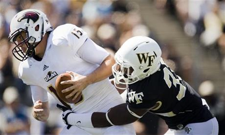 la Monroe Wake Forest Football