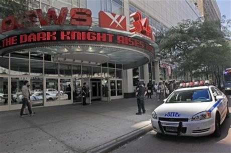 Colorado Shooting New York Security