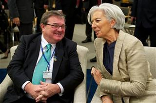 Christine Lagarde, James M. Flaherty