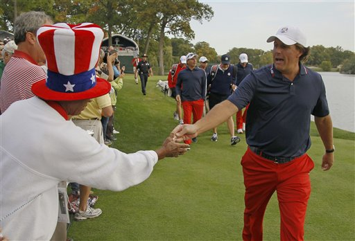 Phil Mickelson, Richard Atkins