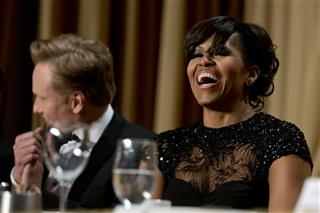 Michelle Obama, Conan O&#039;Brien,