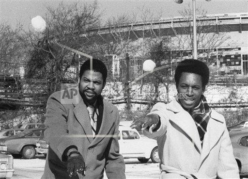 Watchf AP S  NY USA APHS447353 Dock Ellis and Willie Randolph