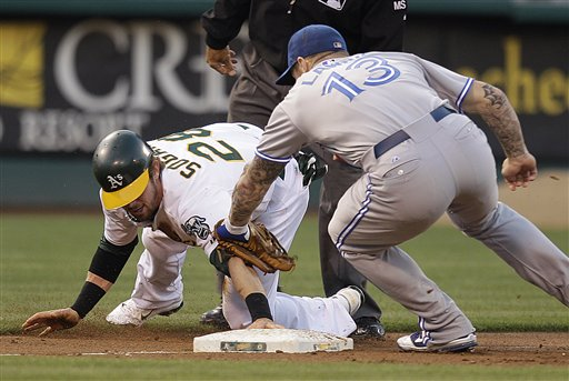 Eric Sogard, Brett Lawrie