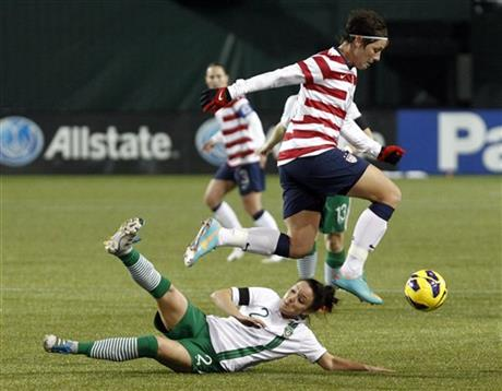 Abby Wambach, Sophie Perry