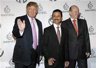 Donald Trump, His Excellency Sultan Ahmed bin Sulayem, Chris O'Donnell