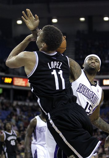 Brooks Lopez, DeMarcus Cousins