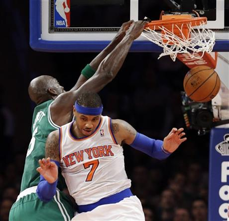 Kevin Garnett, Carmelo Anthony