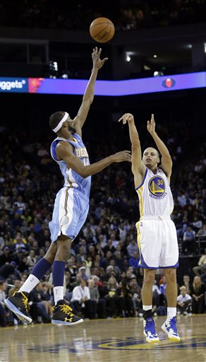 Stephen Curry, Corey Brewer