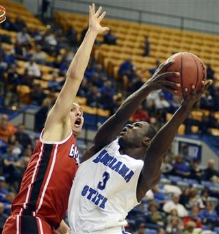 Bradley Indiana St Basketball