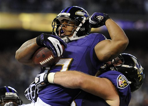 Ray Rice, Marshal Yanda