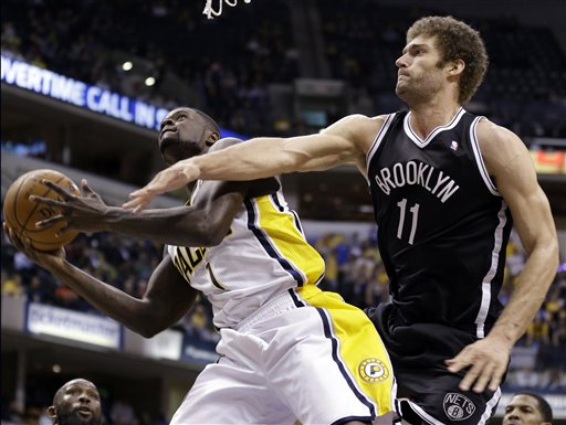 Lance Stephenson, Brook Lopez