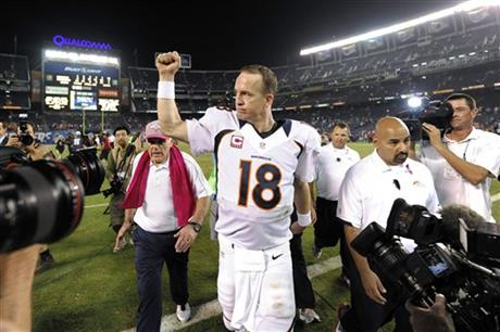 Saints Just Another Team To Manning These Days