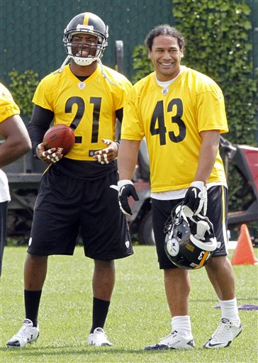 Troy Polalmalu, Ryan Clark