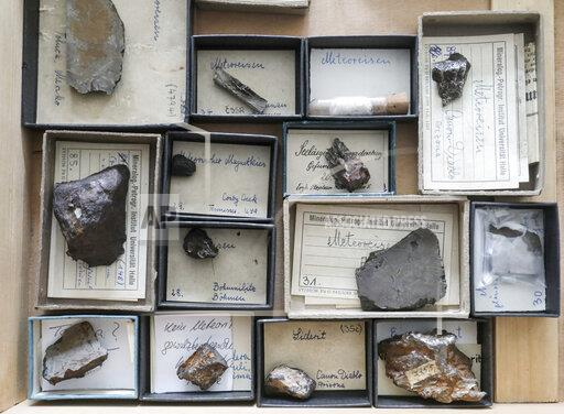 Stones from the sky - meteorite collection in Halle becomes digital