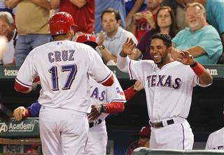 Nelson Cruz, Elvis Andrus