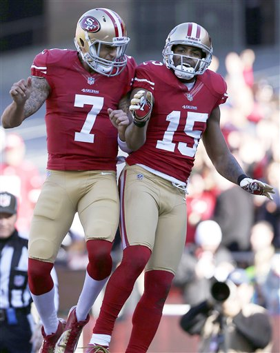 Colin Kaepernick, Michael Crabtree