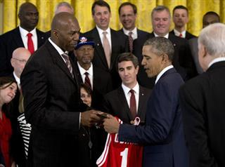 Barack Obama, Thurl Bailey