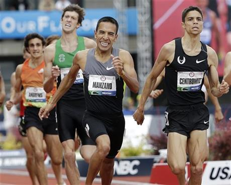 Leonel Manzano, Matthew Centrowitz