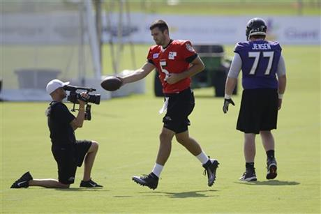Joe Flacco, Ryan Jensen