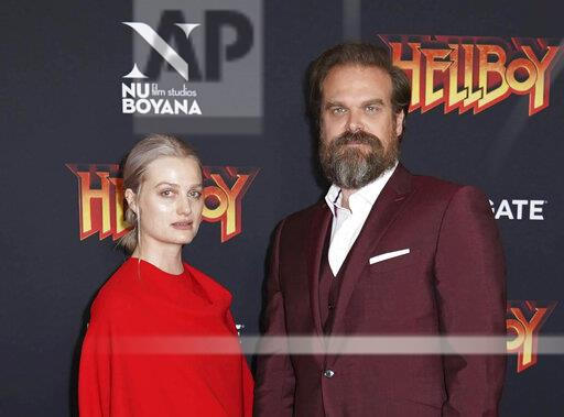 'Stranger Things' Star David Harbour and Alison Sudol Split