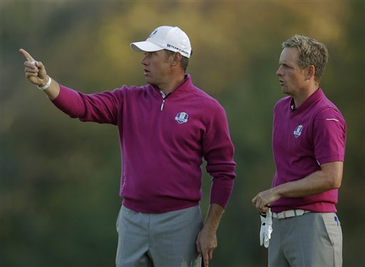 Lee Westwood, Luke Donald