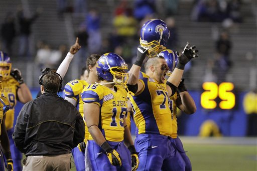 Brigham Young San Jose State Football