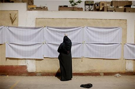 APTOPIX Mideast Egypt Elections