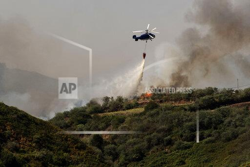 Spain Canary Wildfires