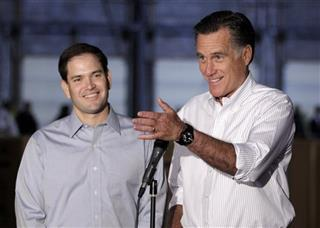 Mitt Romney, Marco Rubio